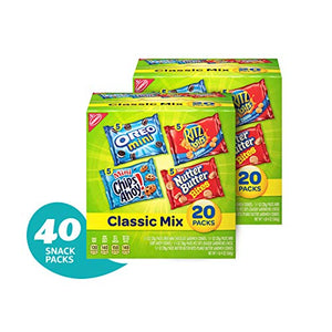 Nabisco Classic Cookie & Cracker Variety Packs - 40 Individual Snack Packs: Amazon.com: Grocery & Gourmet Food