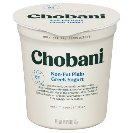 Case of Chobani Yogurt