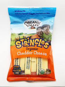Organic Valley Cheddar Cheese Stringles