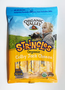 Organic Valley Colby Jack Cheese Stringles