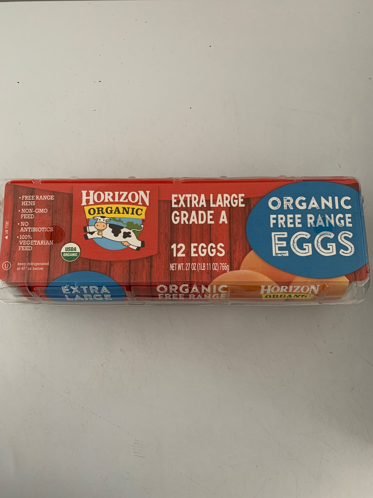 Organic Brown Eggs - Large - 1 Dozen
