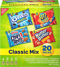 Load image into Gallery viewer, Nabisco Classic Cookie & Cracker Variety Packs - 40 Individual Snack Packs: Amazon.com: Grocery & Gourmet Food
