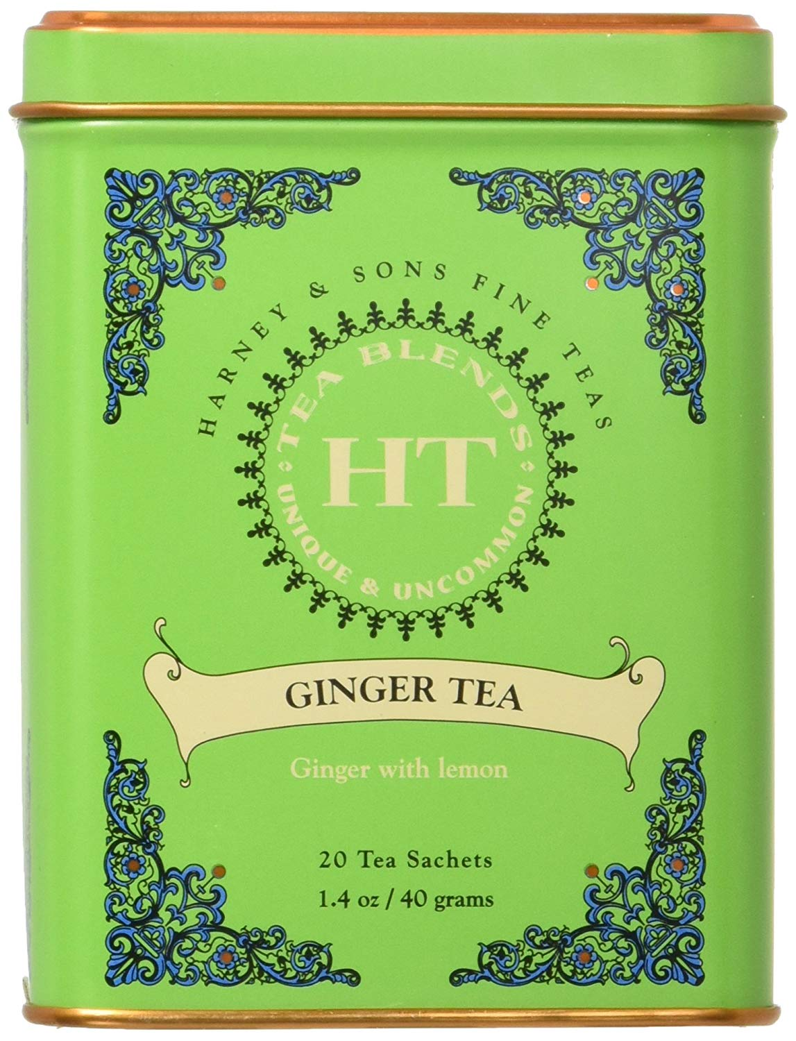 Harney & Sons Fine Ginger Tea, 20 Count