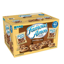 Load image into Gallery viewer, Famous Amos Chocolate Chip Cookies. (42 ct.)