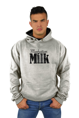 Grey Manhattan Milk Sweatshirt