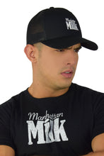 Load image into Gallery viewer, Manhattan Milk Embroidered Curved Brim Hat