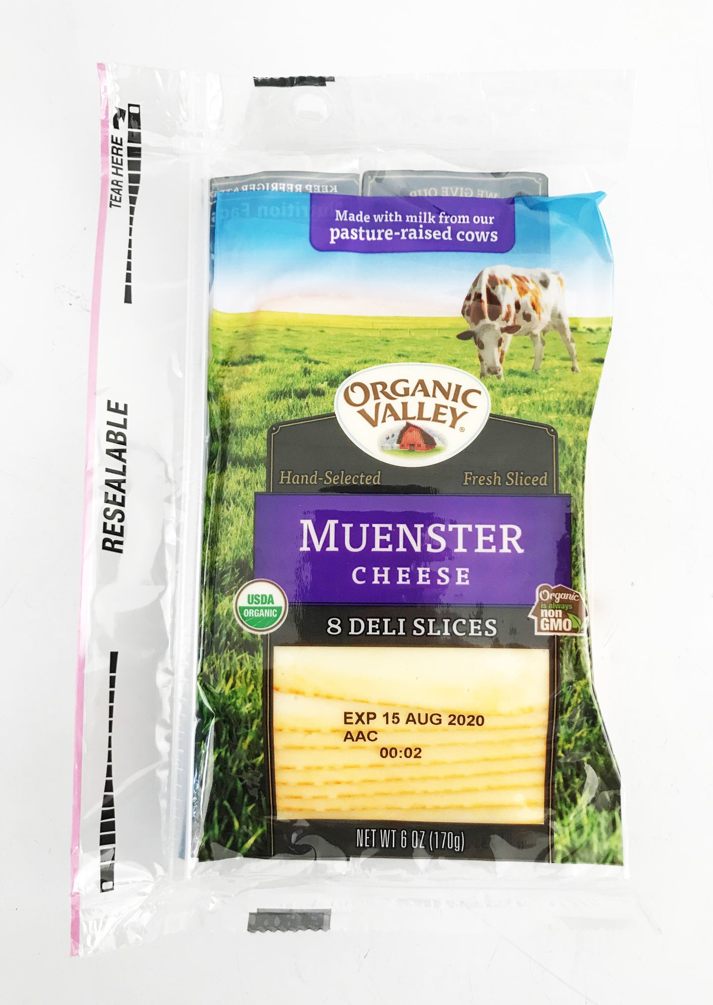Organic Valley Muenster Cheese