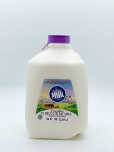 Manhattan Milk 2% Creamline Grass-Fed Quart