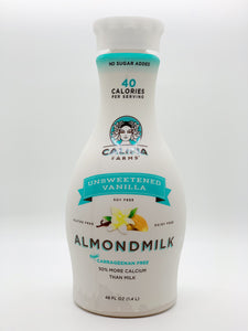 Califia Farms Unsweetened Vanilla Almond