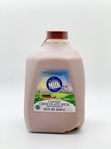 Manhattan Milk Chocolate Milk Creamline Grass-Fed Quart