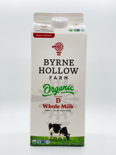 Byrne Hollow Organic Vitamin D Whole Milk