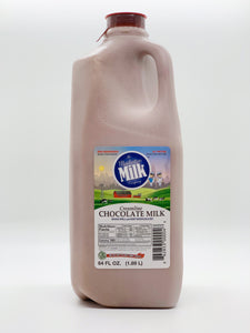 Manhattan Milk Chocolate Milk Creamline Grass-Fed Half Gallon