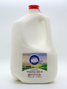 Manhattan Milk Whole Milk Creamline Grass-Fed Gallon