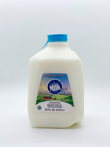 Manhattan Milk Skim Milk Creamline Grass-Fed Quart