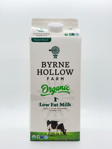 Byrne Hollow Organic 1% Low Fat Milk