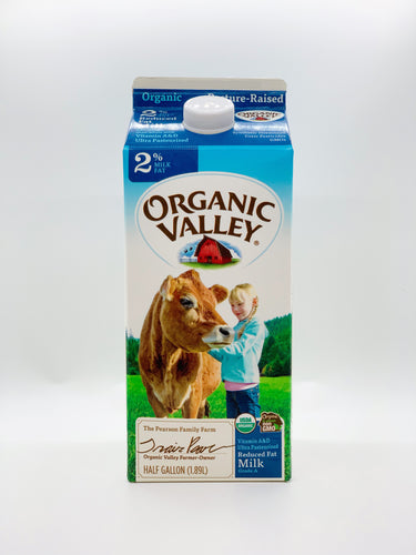 Organic Valley Half Gallon 2%