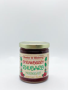 Hunter & Hilsberg Strawberry Rhubarb Preserves