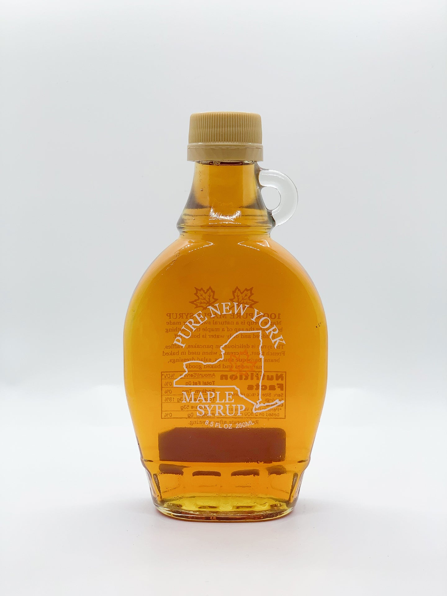 New York Glass Maple Syrup