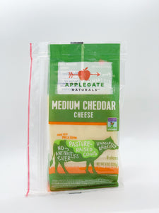 Applegate Medium Cheddar Cheese