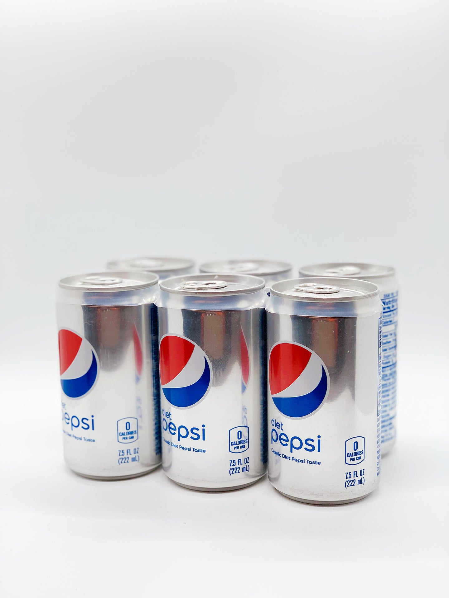 Pepsi Minis, 7.5 Oz Cans, 24 Pack