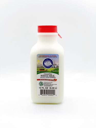 Manhattan Milk Whole MIlk Creamline Grass-Fed Chuggable