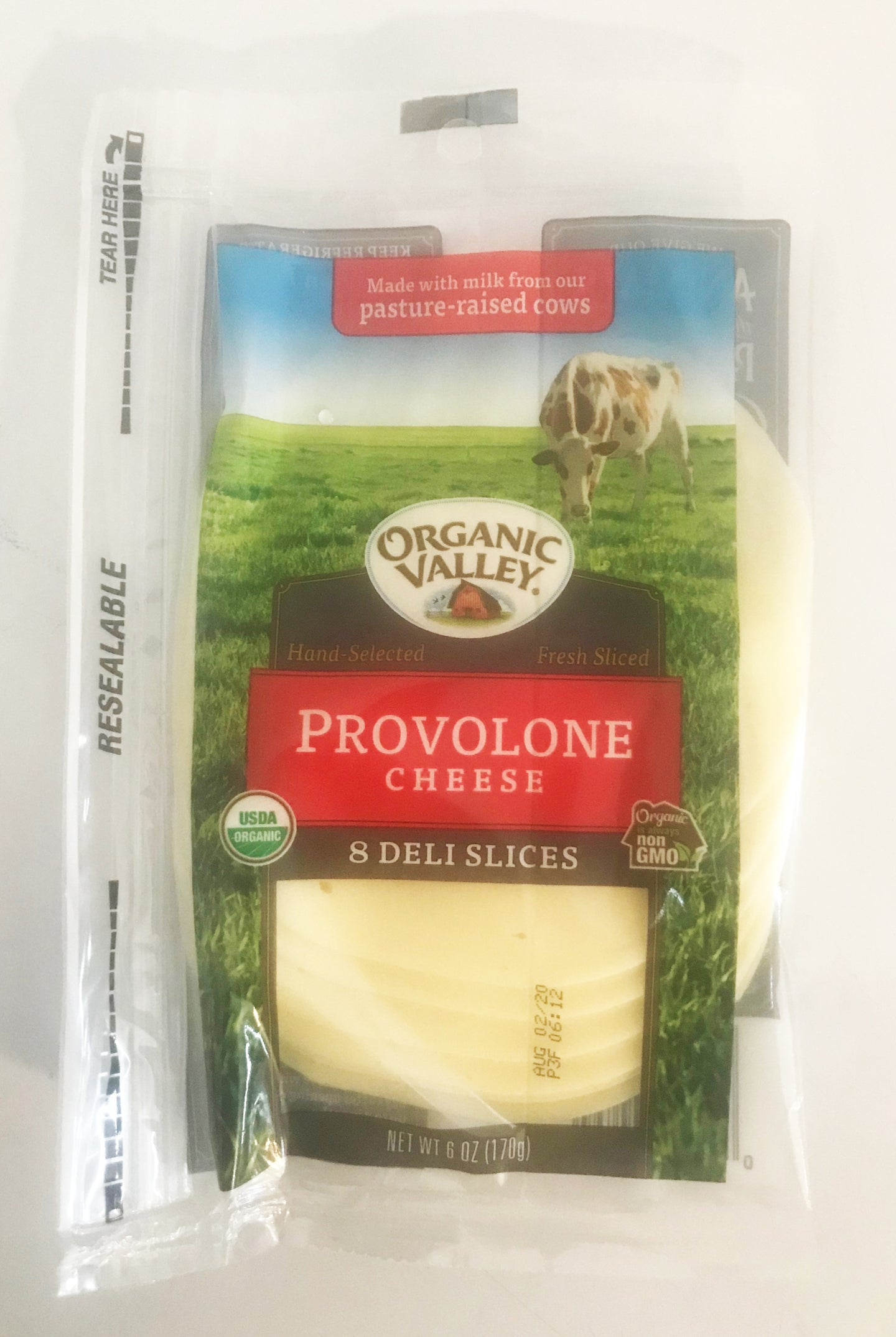 Organic Valley Provolone Cheese