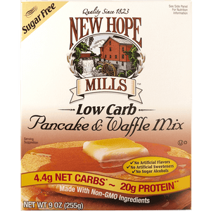 New Hope Low Carb Pancake & Waffle Mix
