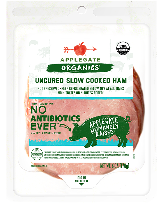Applegate Organic Slow Cooked Ham