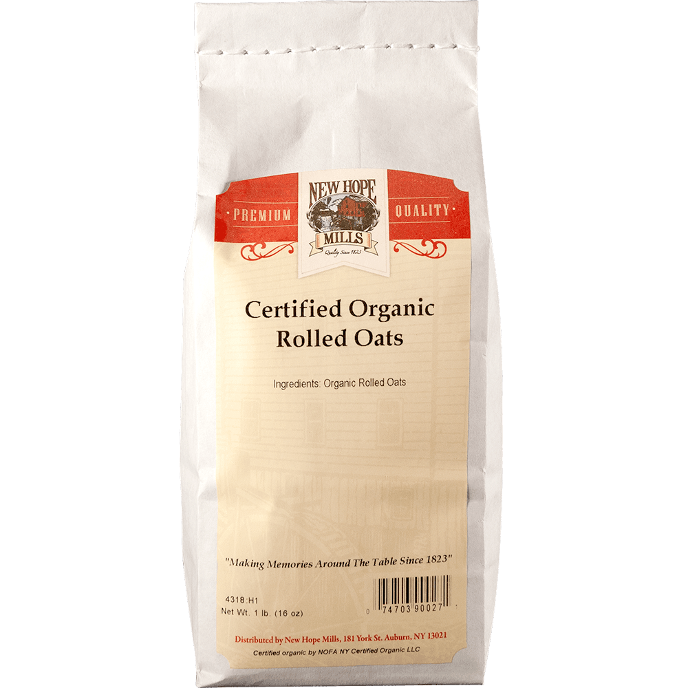 New Hope Organic Rolled Oats