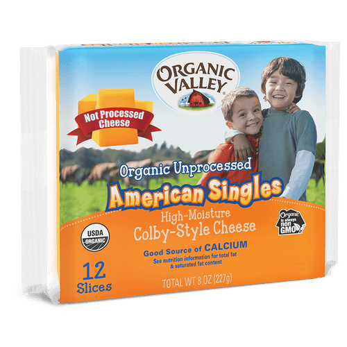 Organic Valley American Cheese Singles