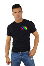 Load image into Gallery viewer, Pride Short Sleeve T-Shirt Black