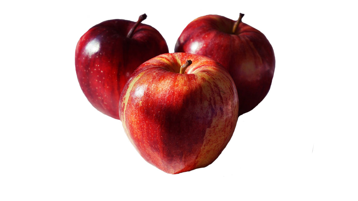 Case of Red Delicious Apples