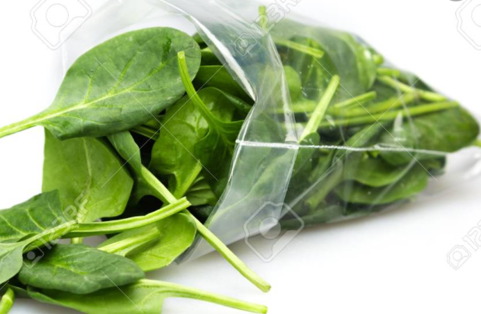 Fresh Spinach 2lb Bags