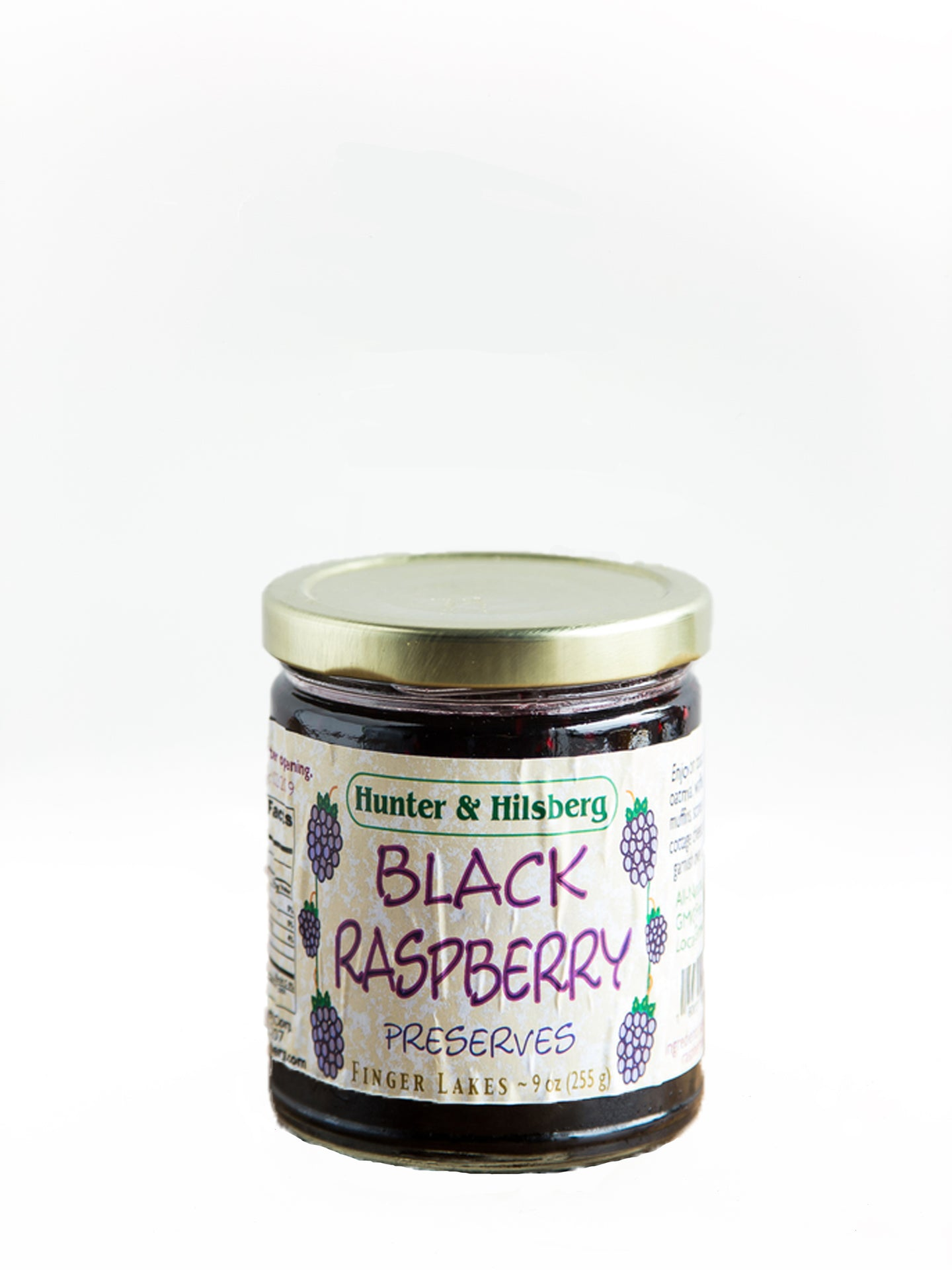 Hunter & Hilsberg Black Raspberry Preserves