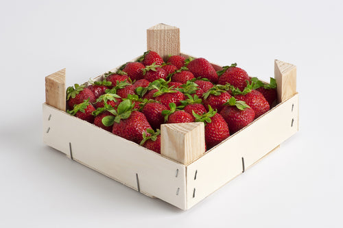 Case of Farm Fresh Strawberries