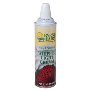 Byrne Dairy Light Whipped Cream