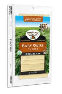 Organic Valley Baby Swiss Slices