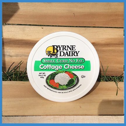 Byrne Dairy Small Curd No Fat Cottage Cheese