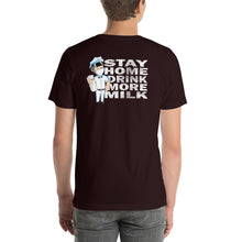 Load image into Gallery viewer, Stay home back print classic logo tee