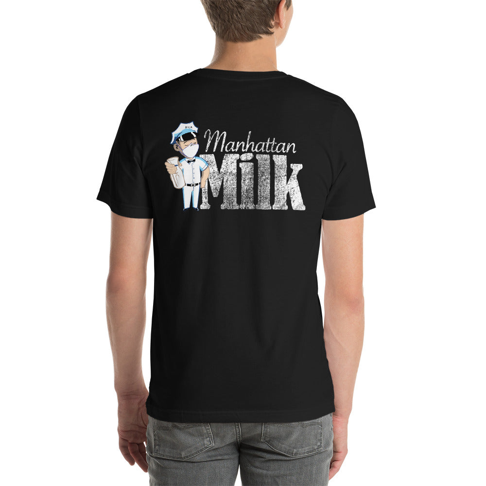 Milkman mask new logo tee