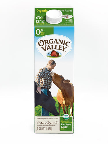 Organic Valley Quart Skim