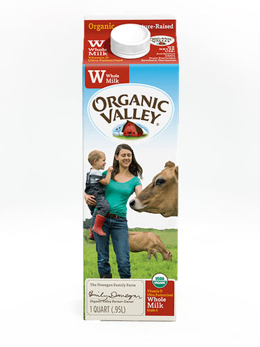 Organic Valley Quart Whole