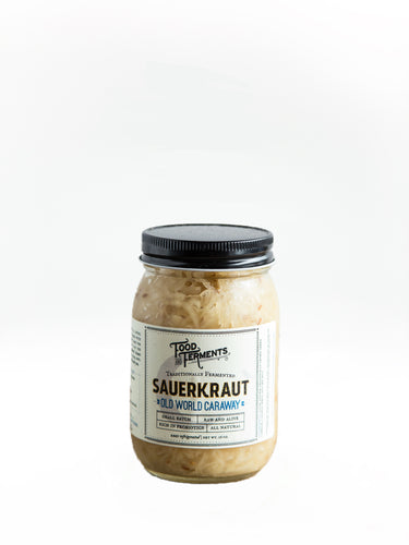 Food Ferments Sauerkraut Old World Caraway