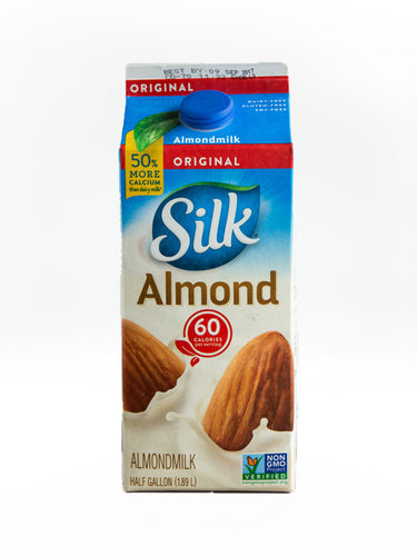 Silk Almond Milk Original Half Gallon