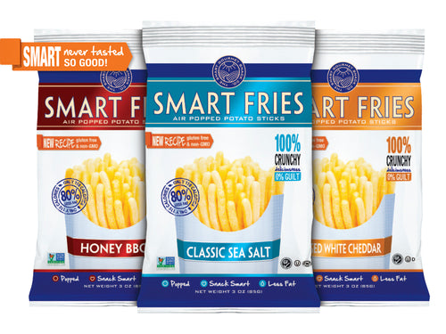 Case of Smart Fries Sea Salt Case of 24 1oz