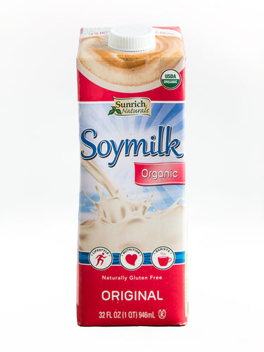 Sunrich Naturals Organic Soymilk Original Quart
