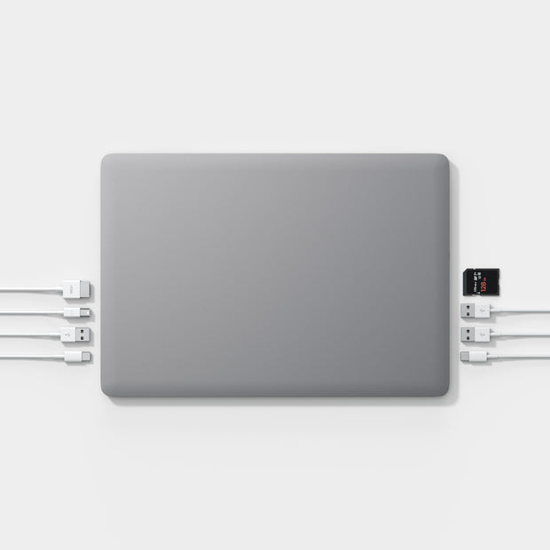 linedock space Grey 9 ports