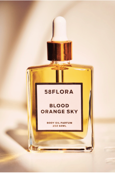 58 Flora BLOOD ORANGE SKY Body Oil Parfum