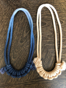 Ombré Half-Hitch Necklace