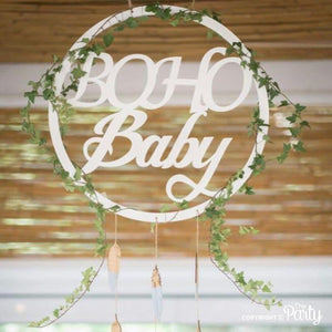 Generic Boho Baby sign -  The Party